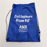 Engineers Make a World of Difference drawstring bags