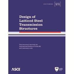 Design of Latticed Steel Transmission Structures (10-15)