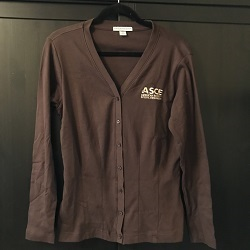 Ladies Cardigan - Brown