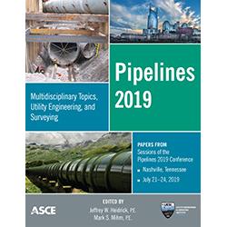 Pipelines 2019: Multidisciplinary Topics, Utility Engineering, and Surveying