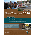 Geo-Congress 2020: University of Minnesota 68th Annual Geotechnical Engineering Conference
