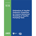 Estimation of Aquifer Hydraulic Properties by Inverse Numerical Modeling of Aquifer Pumping Tests (70-19)