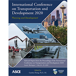 International Conference on Transportation and Development 2020: Planning and Development