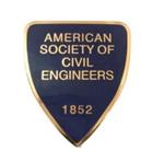 Brass ASCE Shield